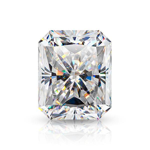 GIGAJEWE Hand-Cutting Radiant White TOP D VVS1 Moissanite Premium Gems Loose Diamond Test Passed Gemstone For Jewelry Making
