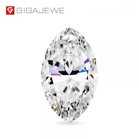 GIGAJEWE Lose Diamant CVD weiß farbe Marquise cut Mit IGI zertifikat lab grown runde brillant geschnitten mann made Diamant