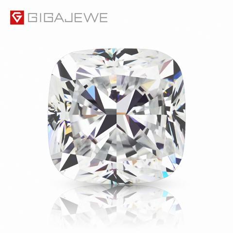 GIGAJEWE Loose Diamond CVD white color Cushion cut With IGI certificate lab grown round brilliant cut man made Diamond