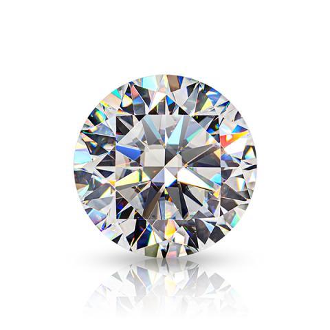 GIGAJEWE Hand-Cutting Round White TOP D 8 Hearts And 8 Arrows VVS1 Moissanite Premium Gems Loose Diamond Test Passed Gemstone